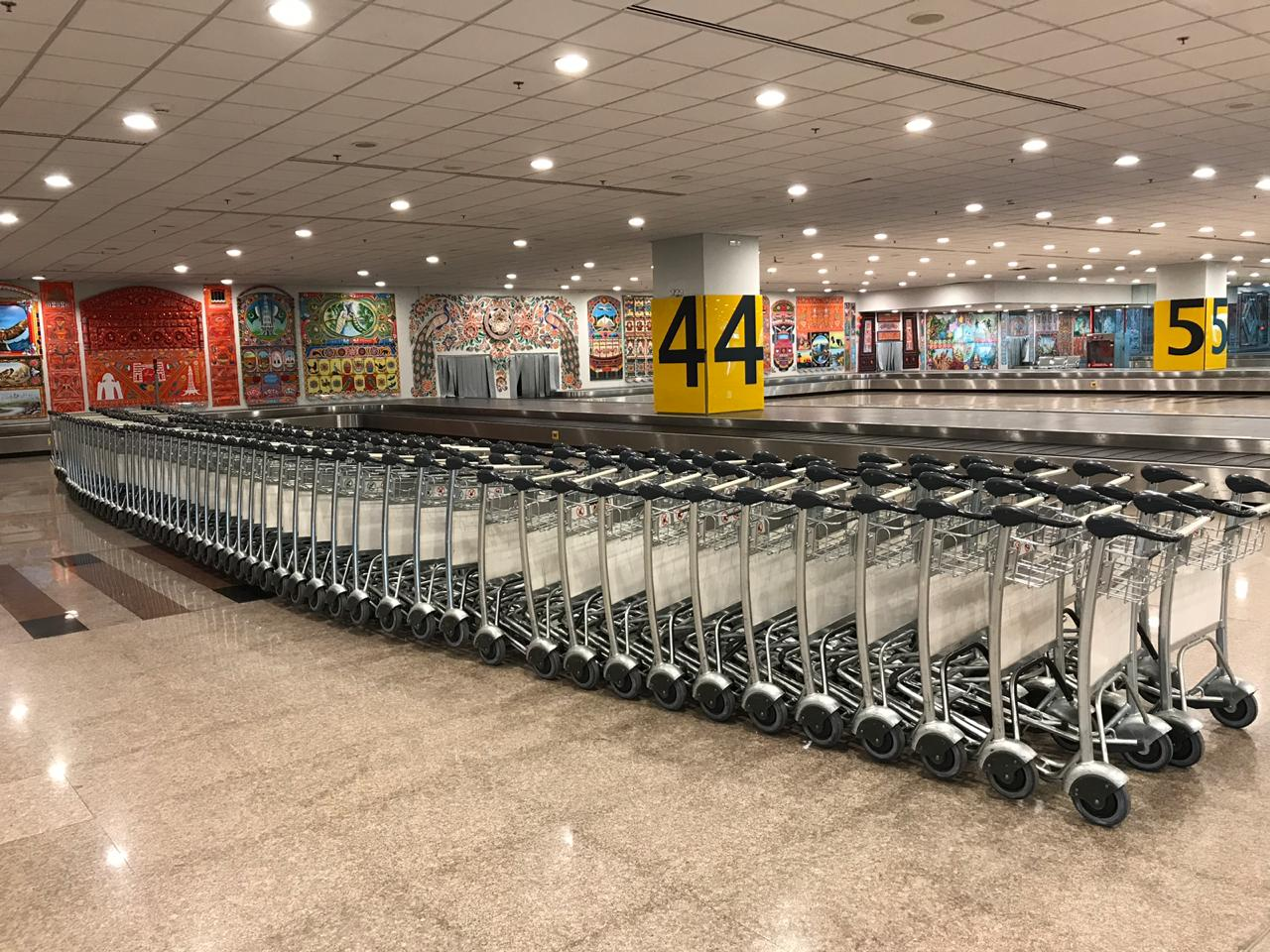 Complimentary Trolleys